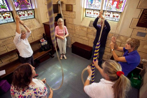 Bell Ringing at Christ Church